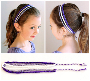 Crochet Hair Band