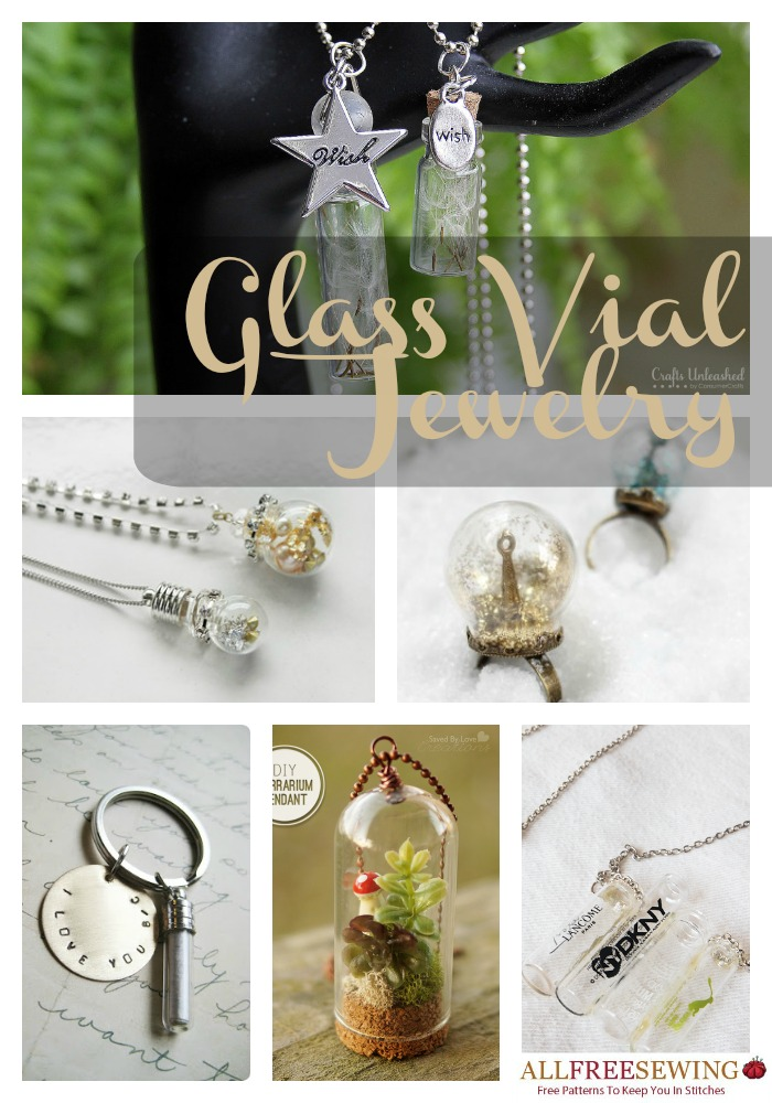 Glass Vial Jewelry