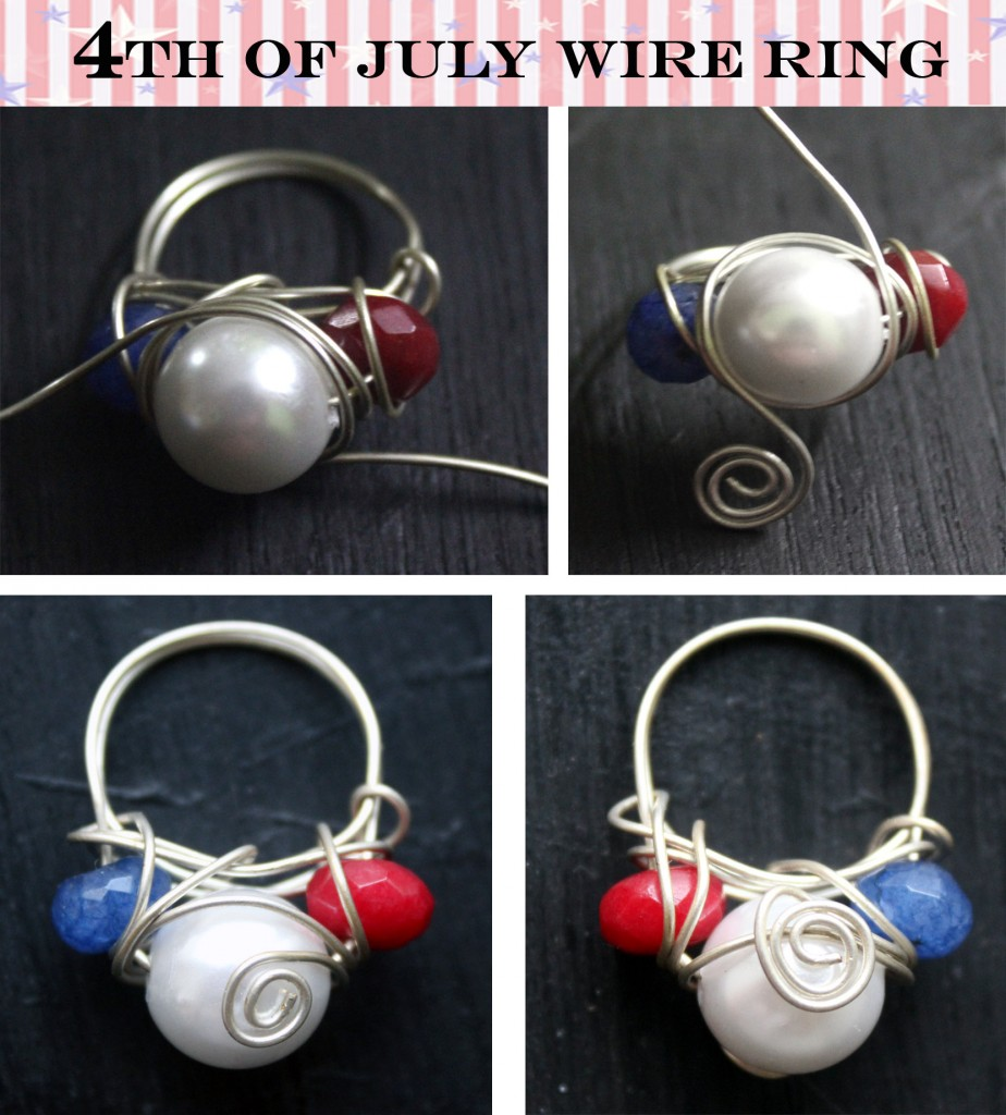 4th of july wire ring