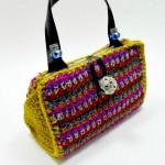 Quirky Crochet Handbag. This image courtesy of crochetdynamite.com.
