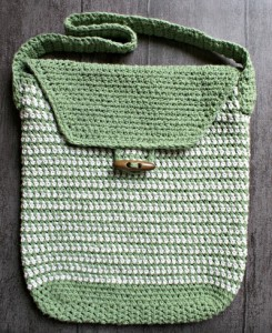 Work Satchel Crochet Bag Pattern. This image courtesy of oombawkadesigncrochet.com.