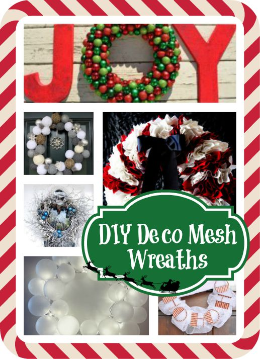 11 DIY Christmas Wreaths to be Jolly About