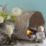 Woodland Winter Centerpiece