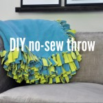 DIY Fleece Throw
