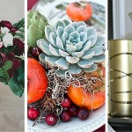 Fall and Winter Centerpieces