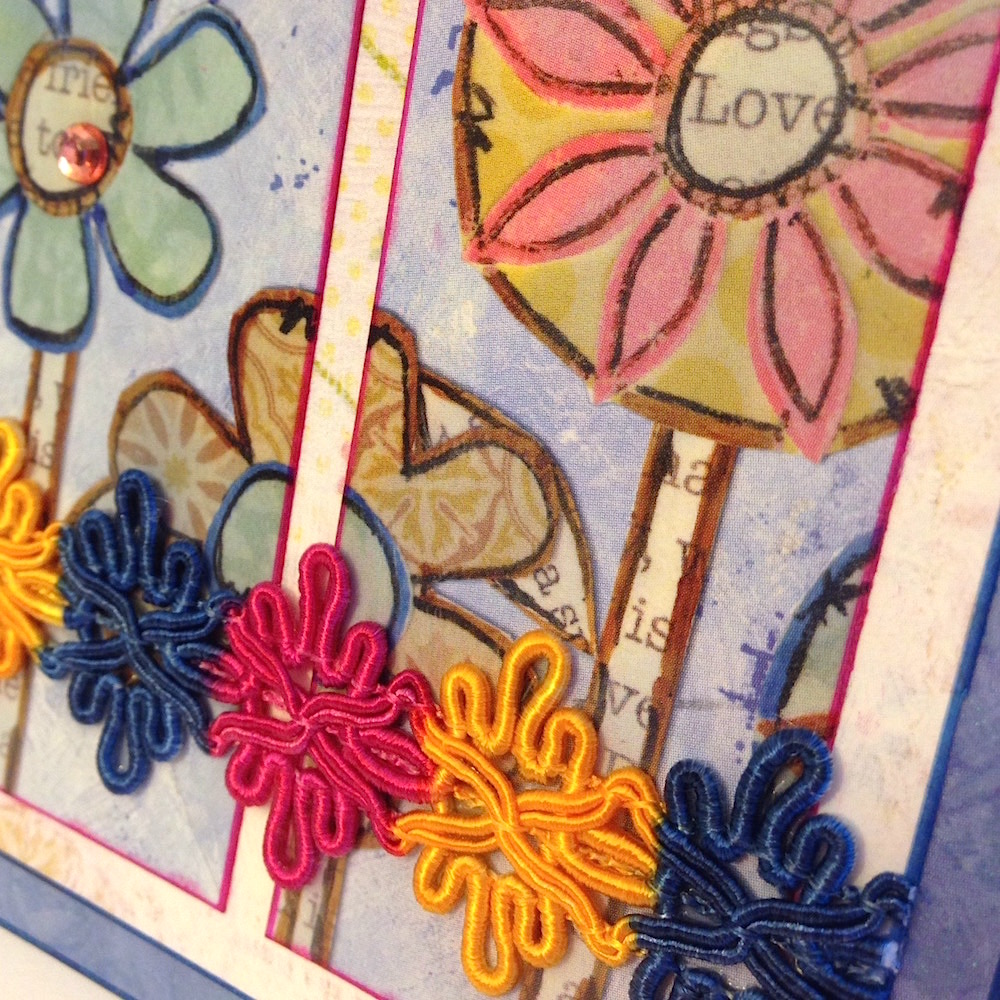 Glam Up Your Handmade Greeting Cards with Decorative Trims