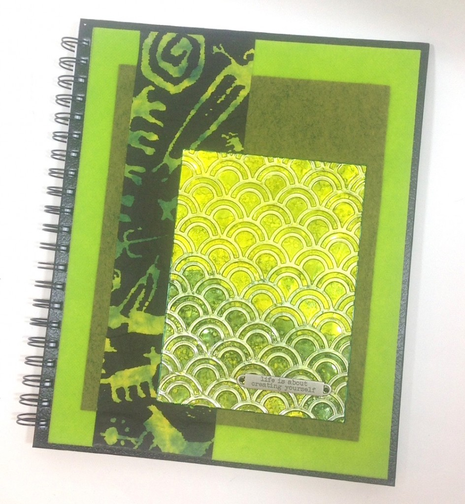 Paper Crafting: Altered Art DIY Journal Cover