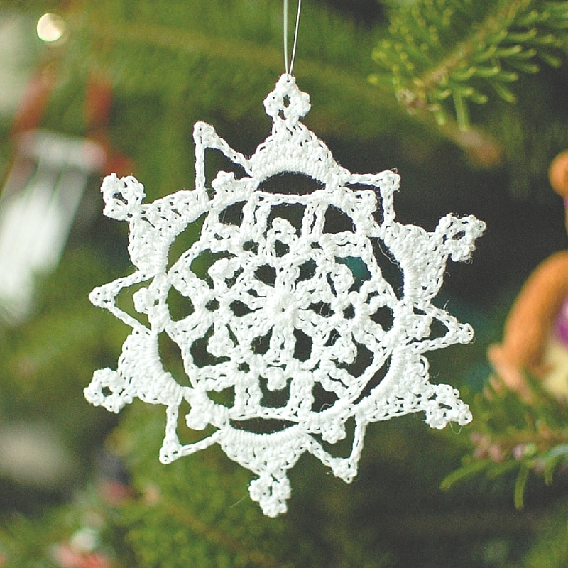 Lacy Snowflake Pattern