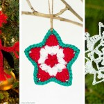 'Tis the Season to Crochet Christmas Ornaments: 12 Free Patterns