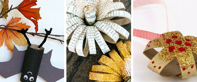 The BEST Holiday Toilet Paper Roll Crafts for Kids