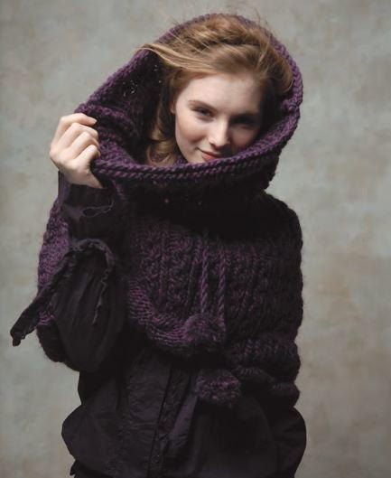 Woodland Nightfall Knit Snood