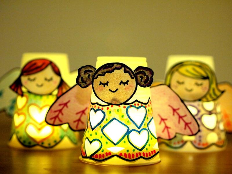 Precious Paper Cup Angels