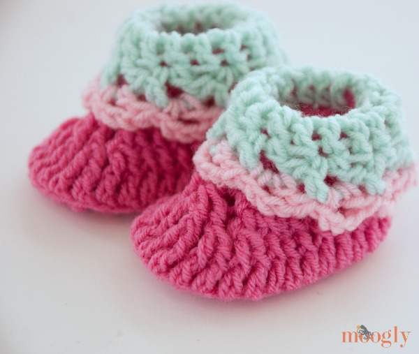 Cutie Newborn Baby Booties