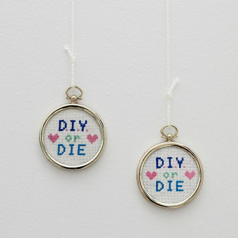 DIY or DIE Cross Stitch Pattern