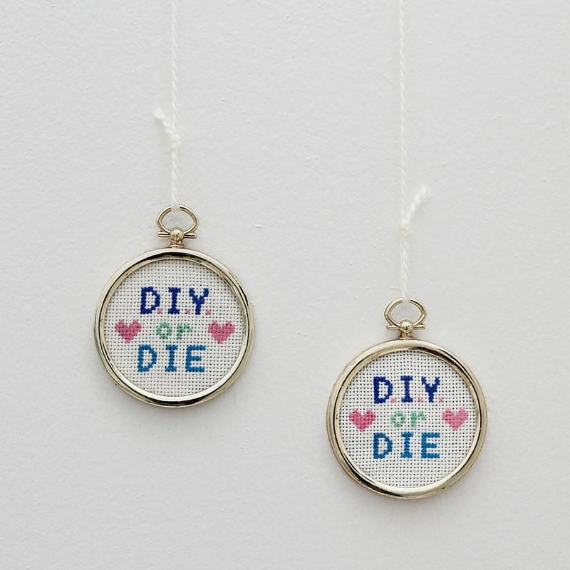DIY or DIE Cross Stitch Pattern