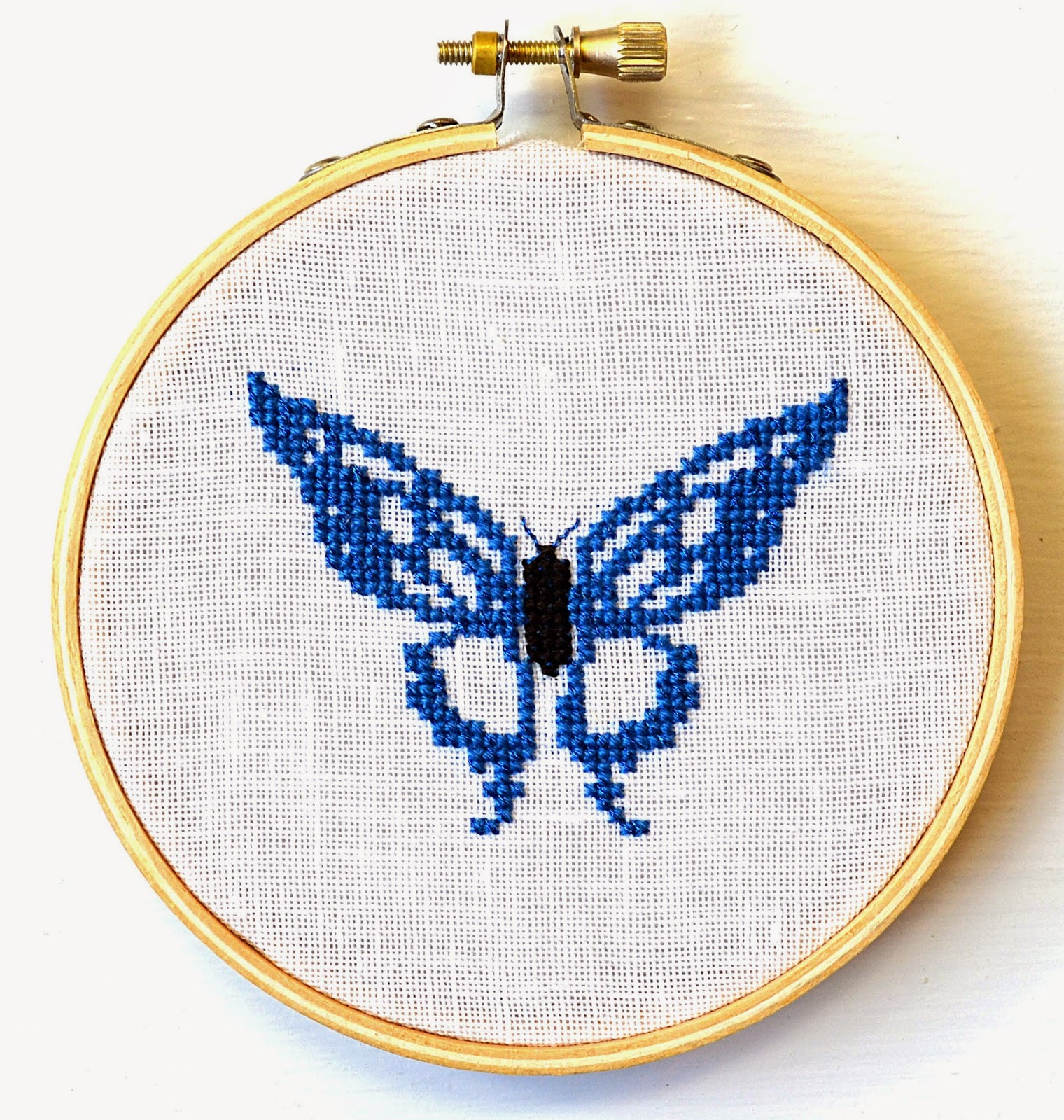 Sparkly Butterfly Pattern