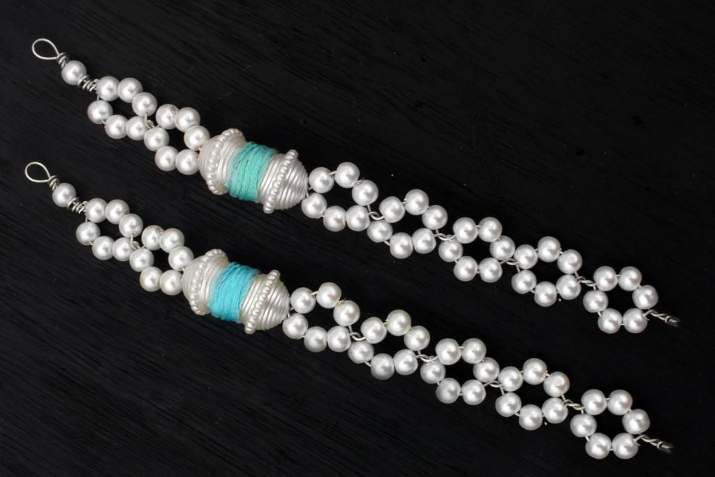 Pearl Snowflake DIY Bracelet