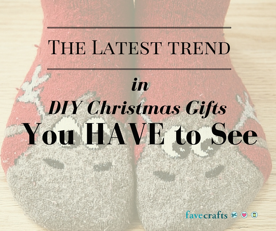 The Latest Trend in DIY Christmas Gifts You HAVE to See