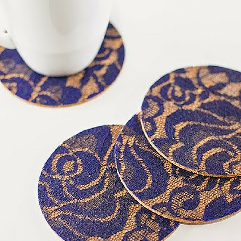 Sophisticated Handmade Lace Coasters