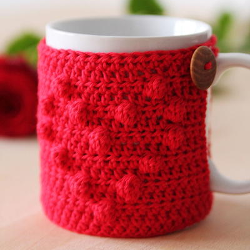 I Heart You Mug Cozy