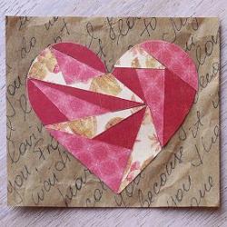 Pretty Paper Scraps Valentine