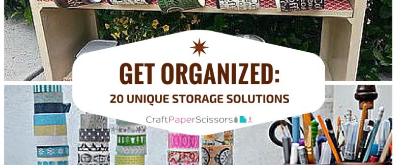 Get Organized: 20 Unique Storage Solutions