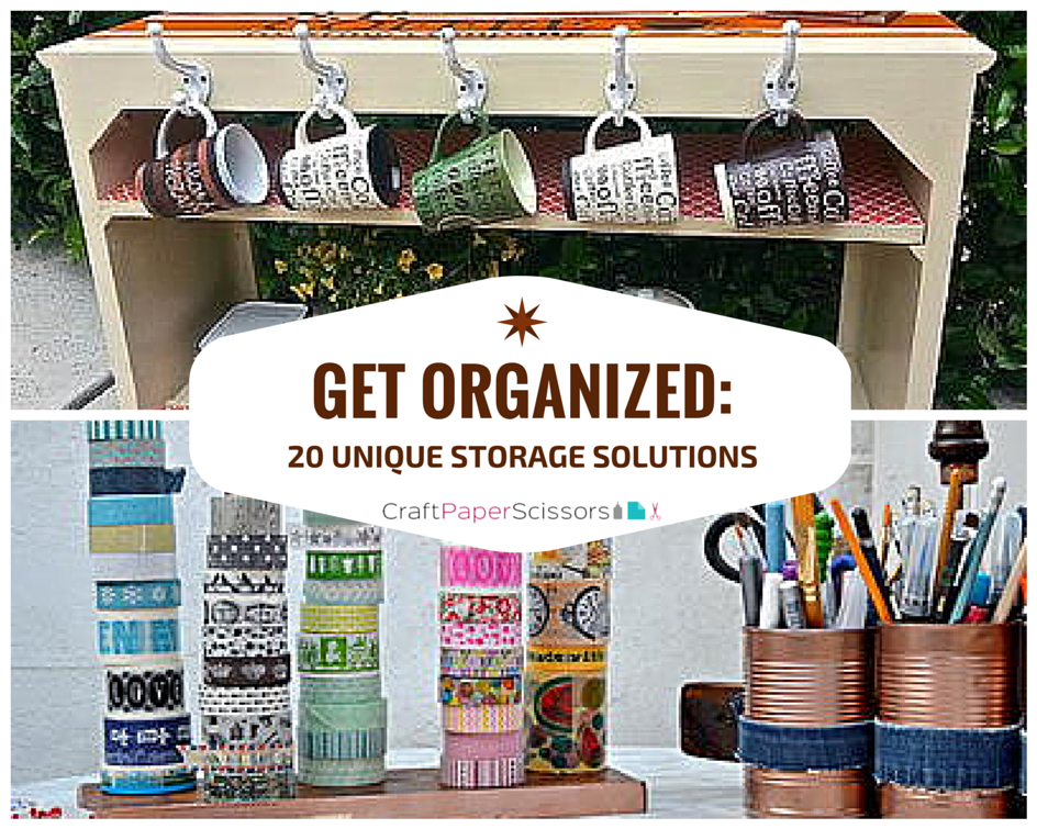 Get Organized: 20 Unique Storage Solutions