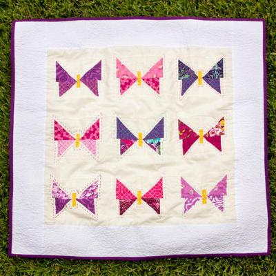 Butterflies Baby Quilt