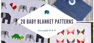 20 Baby Blanket Patterns