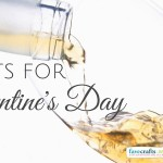 Wine Bottle Crafts for Galentine's Day