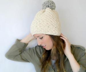 Big Pom Big Style Winter Hat