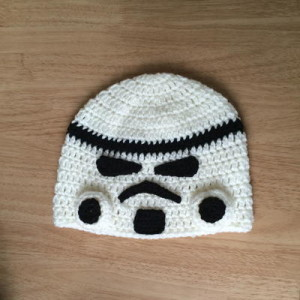 Storm Trooper-Inspired Beanie