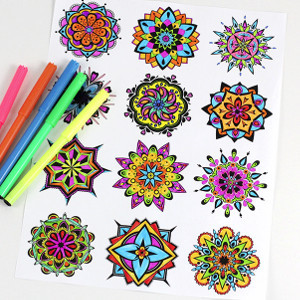 Mandala Free Coloring Pages