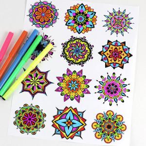Mandala Free Coloring Pages