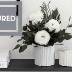 DIY Textured Vase