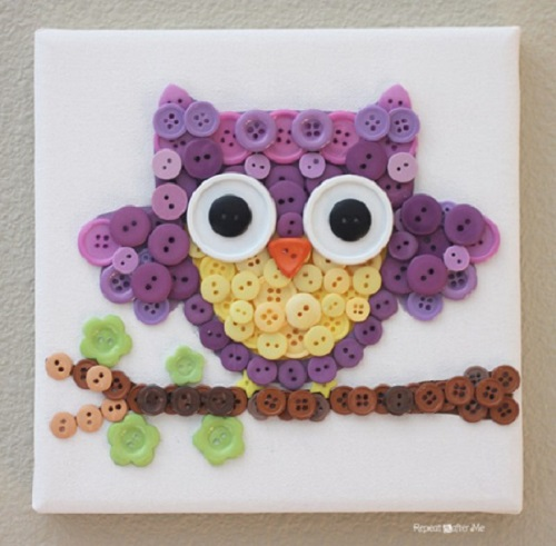 Adorable Owl DIY Wall Decor