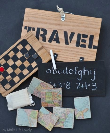 Vintage Vacation Travel Games