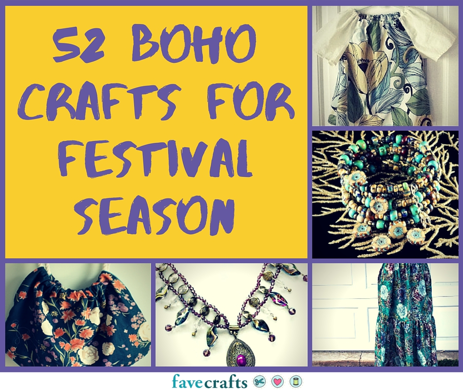 52 Boho Crafts for Festival Season