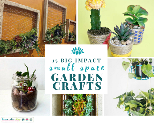 Small Space Garden Crafts