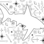 Nautical-Shark-Coloring-Page_Large600_ID-1720453