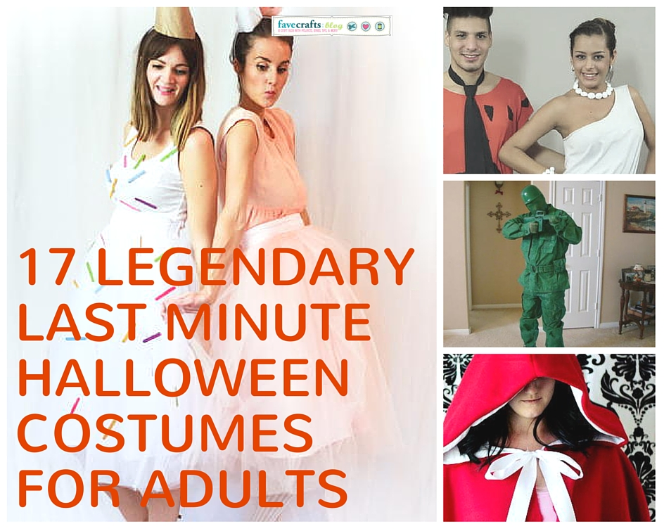 17 Legendary Last Minute Halloween Costumes for Adults - FaveCrafts