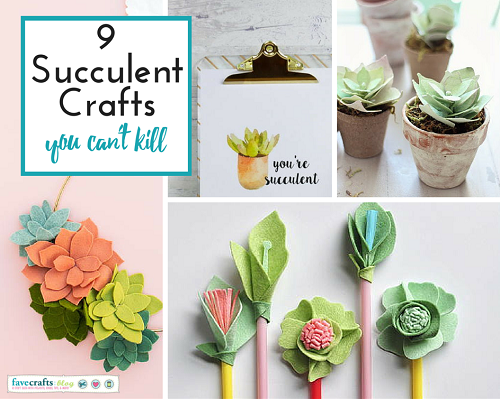 9 Succulent Crafts You Can't Kill