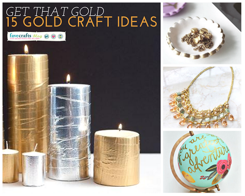 Gold Craft Ideas