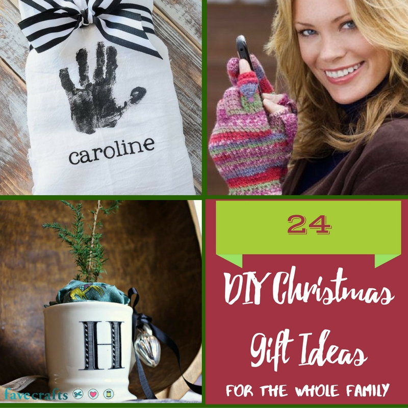 24 DIY Christmas Gift Ideas for the Whole Family - FaveCrafts