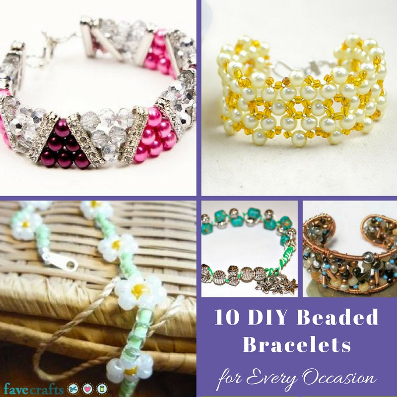 10 DIY Beaded Bracelets for Every Occasion