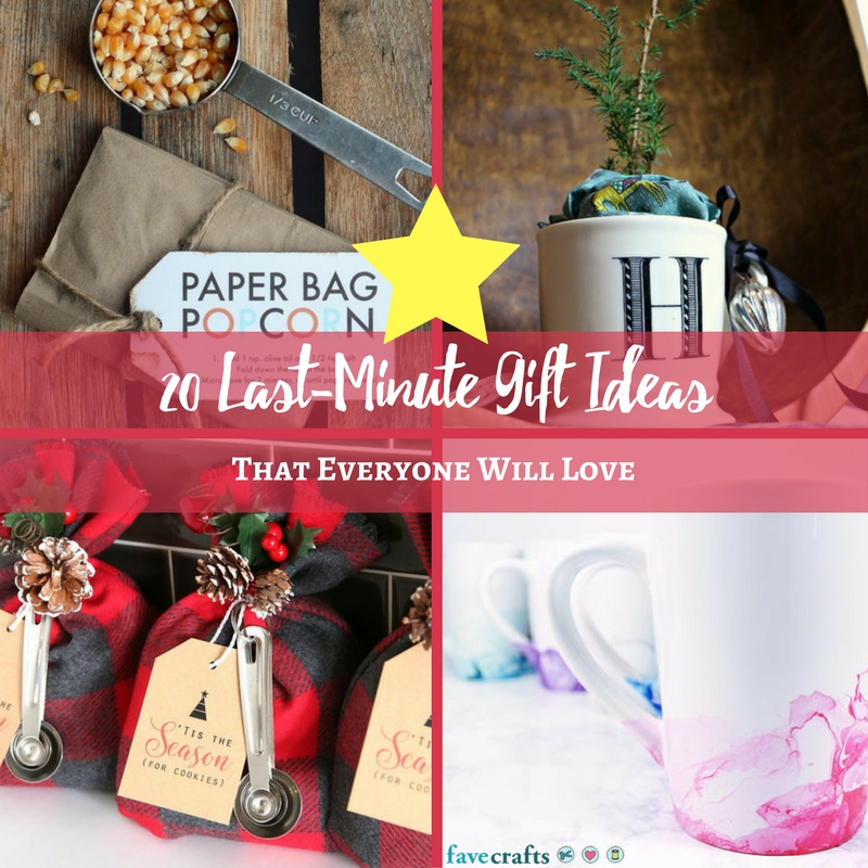 20 Last-Minute Gift Ideas That Everyone Will Love