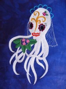 La Catrina Sugar Skull Squid by Hissen