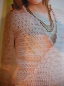 Chicks with Sticks Ballet Wrap Sweater