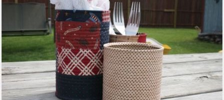 Turn Old Tin Cans into Picnic Helpers