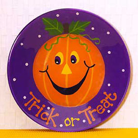 pumpkin plate lg Last Minute Trick or Treats